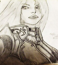 Female Warrior ^^;;