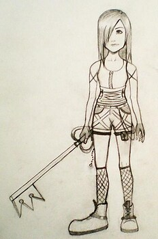 Kingdom Hearts Aylinn (OLD)