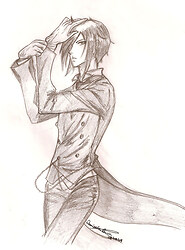 Sebastian, the 'black butler'
