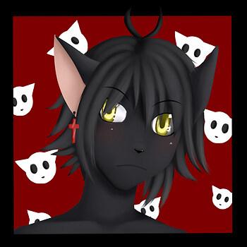 Art-Trade Black-Kat Kaito Icon