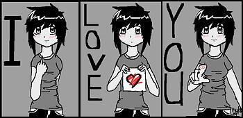 I ♥ you.