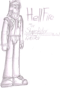 Hellfire The Shapeshifter (Happy B-day Anny!)
