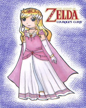 LoZ: Courage's Curse: Princess Zelda