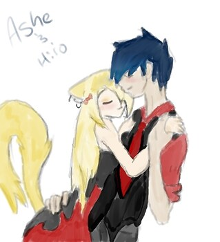 Ashe and Hiro