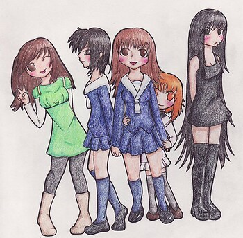 Fruits basket Girls