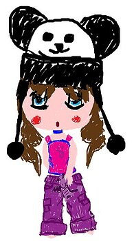 Emi-Chan Self Portrait