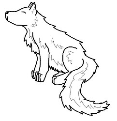 Wolf lines (free to use)