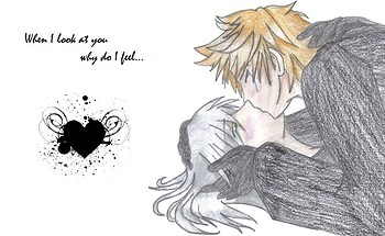 Roxas and Riku - When I look at you why do I feel...