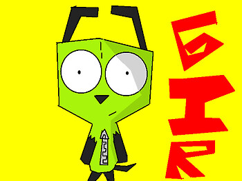 Gir In His Dog Suit