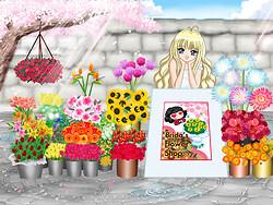 flowershop in spring