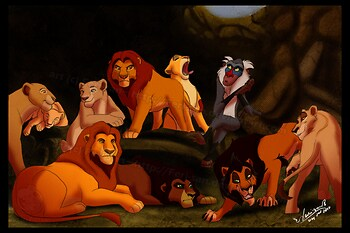 Rafiki in the Lion's Den