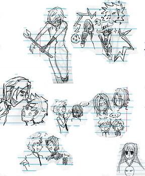 Baccano doodles