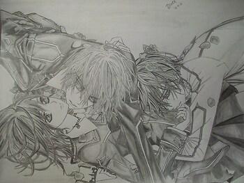 Kaname, Zero, and Yuki VKnight
