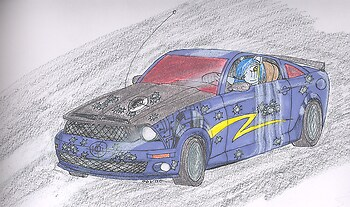 Mustang Shelby 2008 (Volty Style) *CRUDDY COLOURING AHOY!*