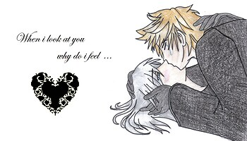 Roxas and Riku - When I look at you why do i feel... (beta)