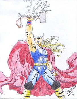 Thor! God of Thunder!