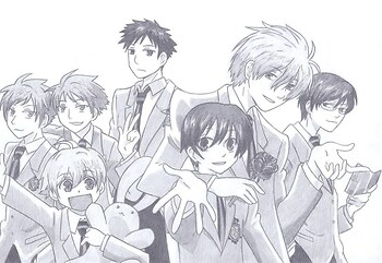 The Ouran High School Host Club