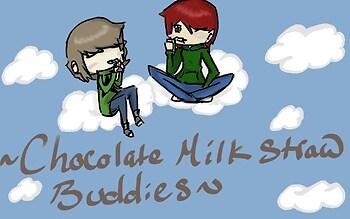 Chocolate Milk Straw Buddies