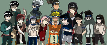 NEW Naruto Group