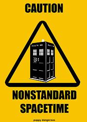 Nonstandard spacetime