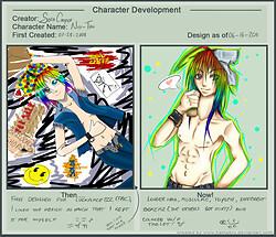 Character Developement Meme - Niji-tan