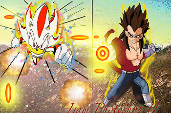 Hyper Shadow vs SS4 Vegeta