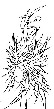 Goku inspired hair