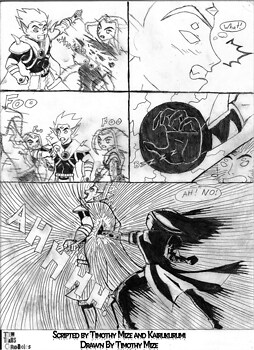 Teen Titans Chronicles Act 02 - P04 - B&W