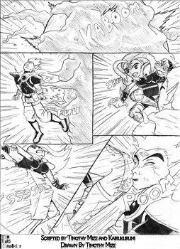 Teen Titans Chronicles Act 02 - P05 - B&W