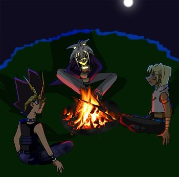 bakuras campfire story