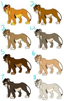 Lion Adoptables 6