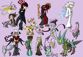 ALL the OCs!