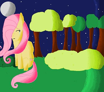 Fluttershy, Fluttershy, Fluttershy can hardly fly! -finished-