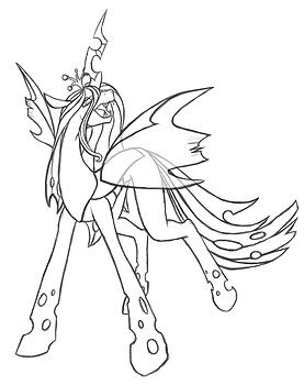 The Changeling Queen (sketch)