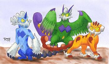Sacred Beast trio