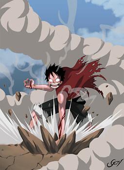 Luffy's Rage