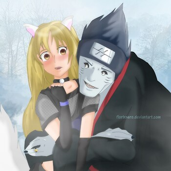 Gotcha! - Kisame and Kitsune
