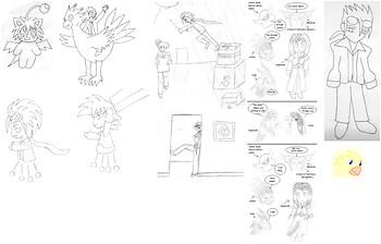 FFVII Doodles 2