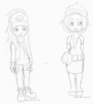 Touko and Bianca