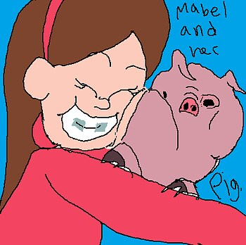 Dat Mabel and her Piggy
