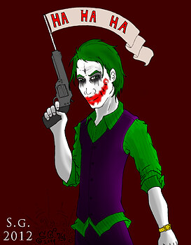Joker Colored