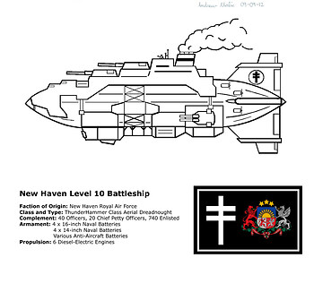 New Haven Battleship Concept