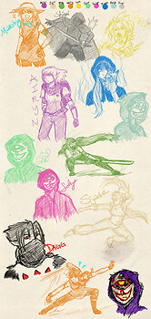 Zelda Roleplay Sketches
