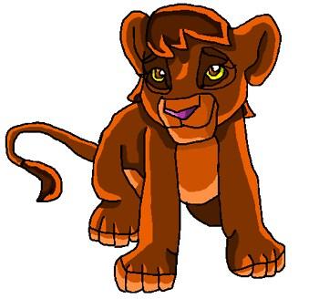 Me as a lion cub!
