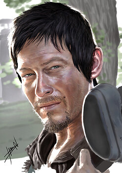 Daryl Dixon Finished