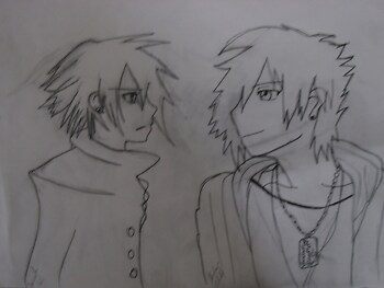 Ienzo and Vanitas