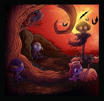 Happy Garuru Halloween