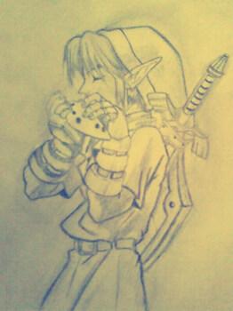 Link Ocarina of timee