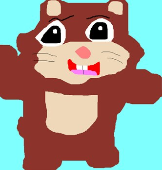 Cute Hamster Or Guinea Pig Ms Paint