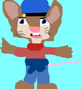 Older Fievel Ms Paint